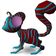 Mossm Zebra Red