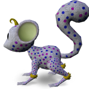 Mossm Fluffy Dots