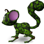 Mossm Pet Camo Green
