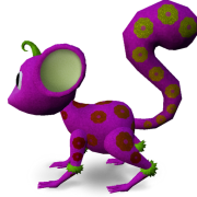 Mossm Dotty pinkred